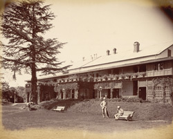 View of 'Peterhoff' at Simla.